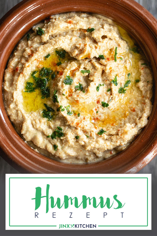 Pinterest Hummus Rezept Draufsicht