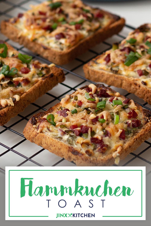 Pinterest Flammkuchen Toasts