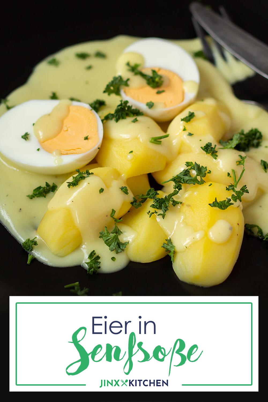 Pinterest Eier in Senfsoße