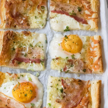 Spiegelei Bacon Frühstück