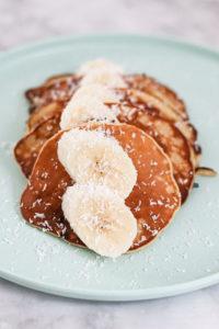 Bananen Pancakes Paleo ohne Mehl