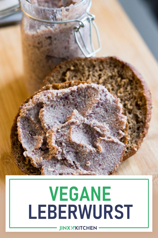 Pinterest vegane Leberwurst aus Kidneybohnen