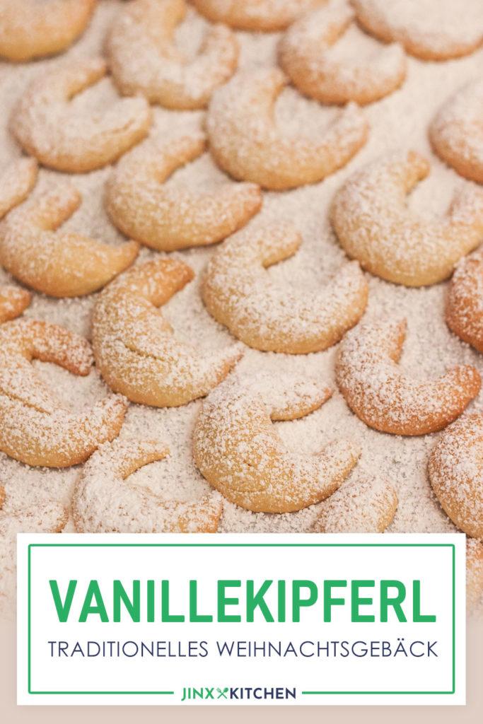 Vanillekipferl Rezept Pinterest