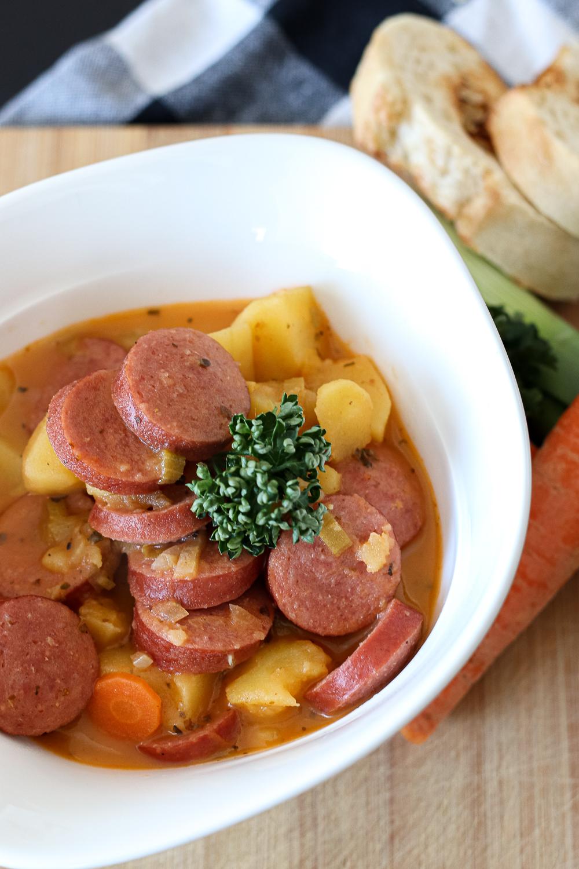Instagram Jinx Kitchen Kartoffel-Eintopf mit Frankfurter Rindswurst
